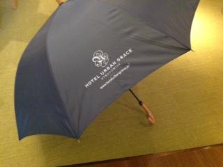 アーバングレイス貸出傘