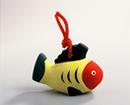 赤い顔の黄色い魚